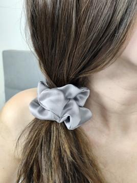 Jedwabna gumka do włosów - MAXI